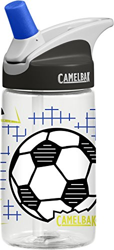 CamelBak Eddy 0.4-Liter Kids Water Bottle – Easy to Use for Kids Kids Big Bite Valve - Spill Proof- Not for Children Under 3 Years - Water Bottle for Kids - BPA-Free Water Bottle – 12 Ounces