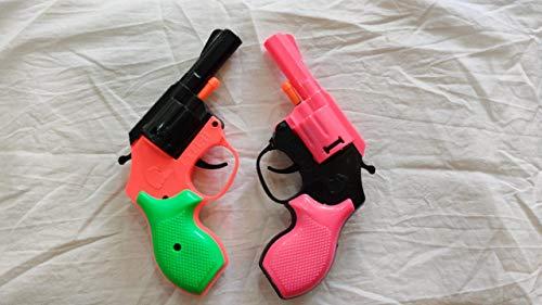 eagle toys excel-ii color diwali cracker 8 ring gun for kids (pack of 2)- Multi color