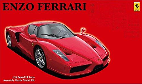modelo de Fujimi 1/24 Rial Serie del coche de deportes No.102 Enzo Ferrari