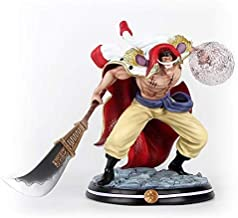 Skwenp Adult Collection Gift Arrival Anime Action Figure One Piece POP GK White Beard Edward Newgate Statue Recast Battle Over The Dome 32cm PVC Model Toys