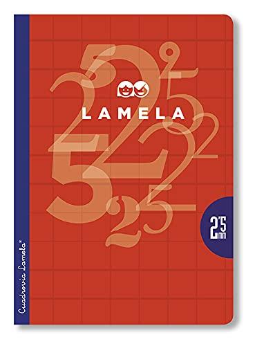 Paquete 10 Libretas Lamela A4 - C 2,5-50 Hojas