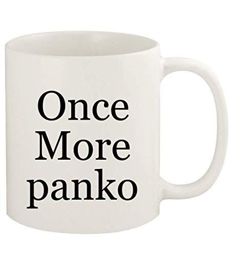 Once More panko - 11oz Ceramic White Coffee Mug Cup, White
