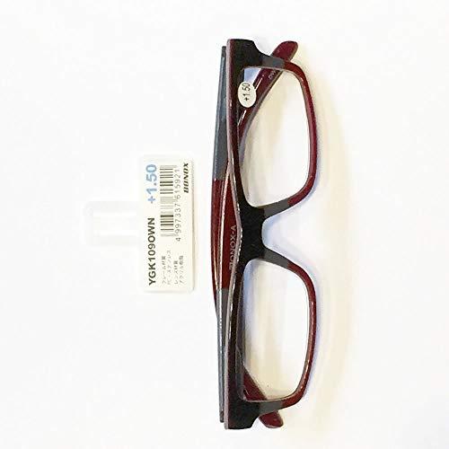 YGK109 BONOX ダルトン おしゃれ/老眼鏡 シニアグラス Reading Glasses (OWN, 1)