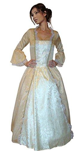 MAYLYNN 11343 - Barock Kostüm Kleid Sissy Elbe Edelfrau, 2-teilig, Größe M