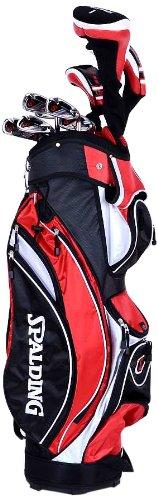 Spalding DX22 MRH Set complète Club de Golf + Sac Chariot pour droitier Homme
