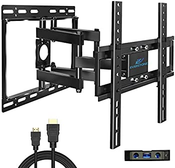 Everstone Dual Articulating TV Wall Mount for 26 Inch-60 Inch TVs