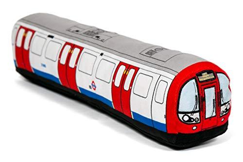 Kissen mit Londoner U-Bahn-Zug – 80 cm