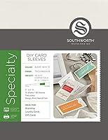 Southworth DIYスリーブ装飾紙 – パッケージが異なる場合があります (91306)