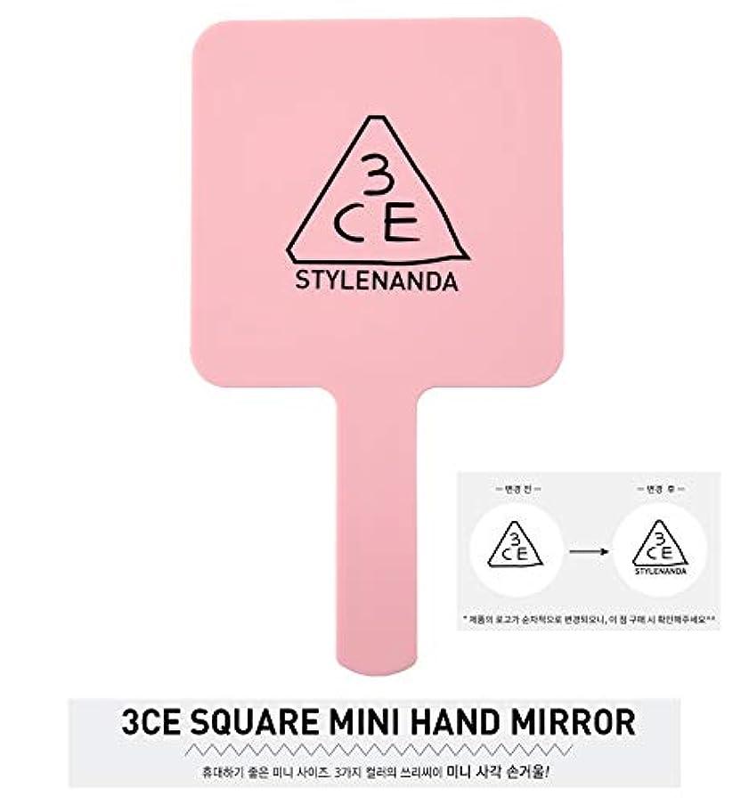 ネイティブ束ウイルス3CE MINI HAND MIRROR ミニハンドミラー PINK RUMOUR[並行輸入品]