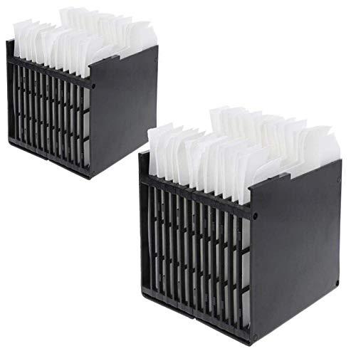 CSPone Air Cooler Filter [2 Stück] - Air Ersatzfilter für Mini Luftkühler Ventilator Klimageräte, Ersatzfilter für Personal Space Air Cooler, Ca. 11,4 X 11,1 X 11,9 cm