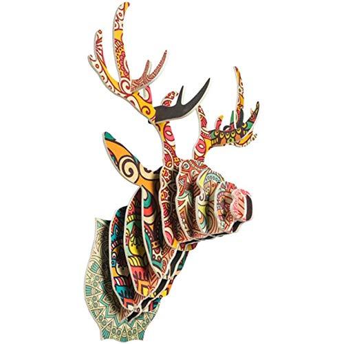 HHXX Adornos Pared, Fondo Decorativo para Sofá Colgante, Arte De Decoración Creativa para Navidad/Bar, 65 * 48 * 33 Cm / 25.5 * 18.8 * 12.9in