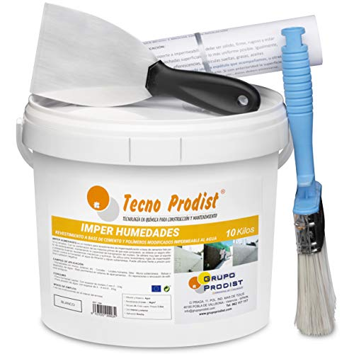 IMPER HUMEDADES de Tecno Prodist - (10 Kg + Kit) - Mortero