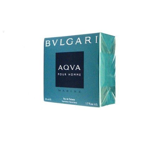 Bvlgari Aqva Marine Pour Homme Eau de Toilette Spray, 50 ml