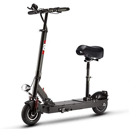 FQCD Scooter eléctrico, ultra-ligero for adultos Scooter eléctrico de un solo paso Fold, Adulto Scooter eléctrico for conmutar y Viajes plegable y portátil 400W 8 pulgadas Scooter eléctrico, Dos Rueda