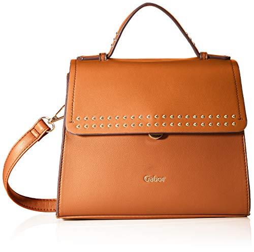 Gabor Damen Nette Flap bag M no zip, Cognac, M