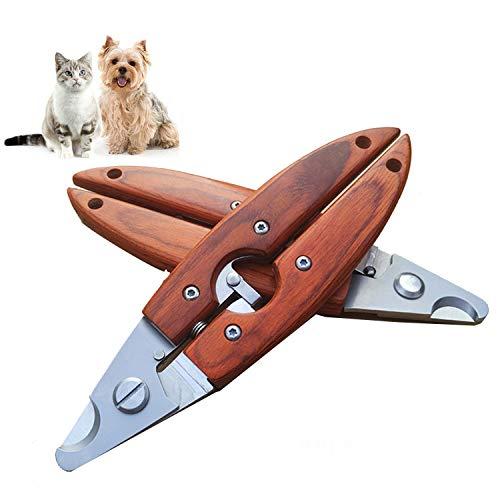 YXZQ Hundepflege Schere Professionelle Pet Nagelknipser, super leicht und sicher, für kleine Rasse Hund, Katze, Kaninchen, Frettchen und kleine Tiere 6,7 '' Haustierpflege