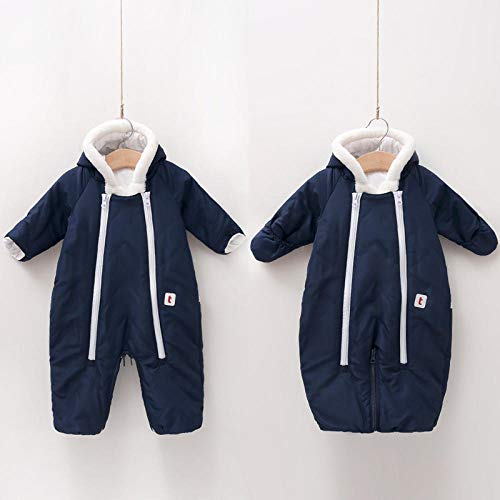 Neutral Swaddle Blanket Baby Sleeping Bag Baby Romper, Infant, One-Piece Suit, Multi-Function, Dual-Use, Sleeping Bag, Warm In Autumn And Winter@Navy_80Cm Child Comfort Quilt