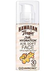 Hawaiian Tropic Silk Hydration Sun Lotion Air Soft Face Zonnecrème, SPF 30, 50 ml, 1 st