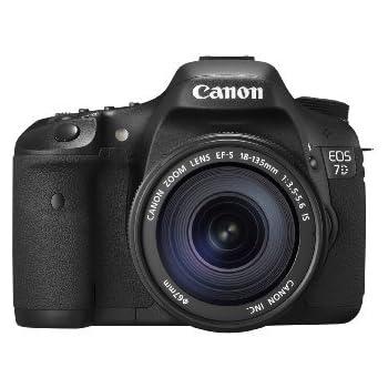 Canon EOS 7D + EF-S 18-135mm Juego de cámara SLR 18MP CMOS 5184 x ...