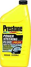 Prestone AS263-6PK Power Steering Fluid with Stop Leak - 32 oz, (Pack of 6)