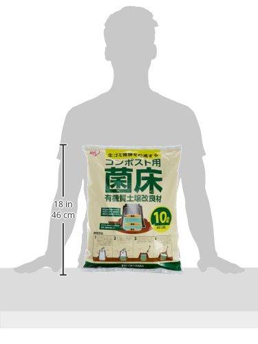 IRISOHYAMA(アイリスオーヤマ)『コンポスト用菌床10L(KK-10L)』