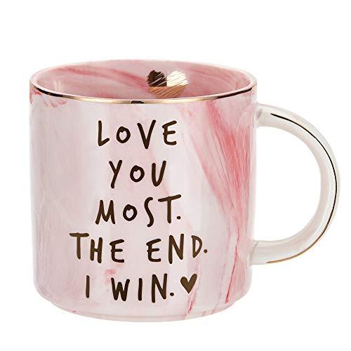 Girlfriend Anniversary, Birthday, Romantic Gift - Love You Most The...