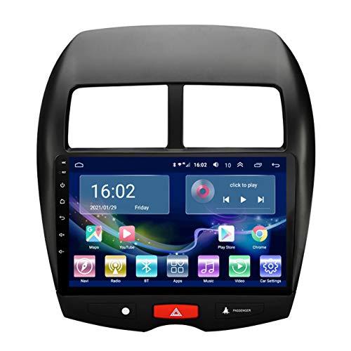 Auto-GPS-Navigation, 10,1-Zoll-Touchscreen Android 10 für Mitsubishi ASX 2013-2015, Multimedia-Player-Autoradio, mit Rückfahrkamera, Bluetooth-Freisprecheinrichtung,4g+wifi 1g+32g