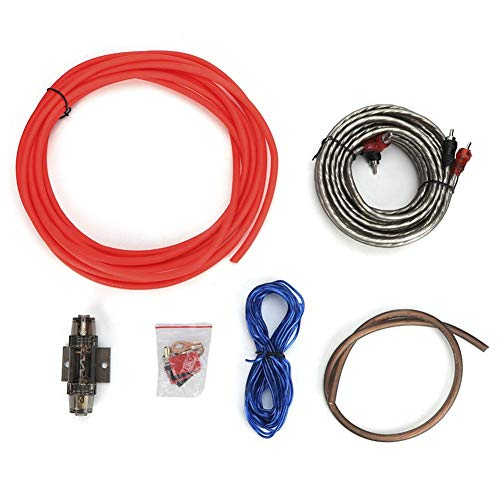 Car Audio Wire, 8GA versterker subwoofer Set Lines Tube Car Audio wire kabel wijziging