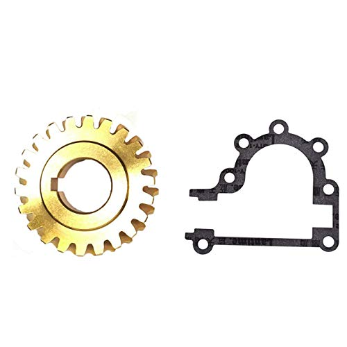 WuWoWo 51405MA Worm Gear with Gasket for SnowThrower Craftsman 536886161 6Hp,536886120 5Hp 536886180 8 Hp 2Duel Stage snowblower