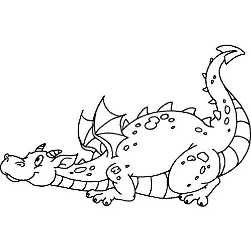 A8 'Netter Drache' Stempel (Unmontiert) (RS00022274)