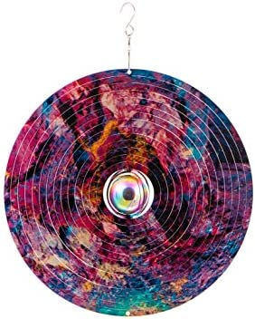 ISEO Galaxy Design Wind Spinner Outdoor All Year Decorative Item 12 Premium Quality Decoration product image