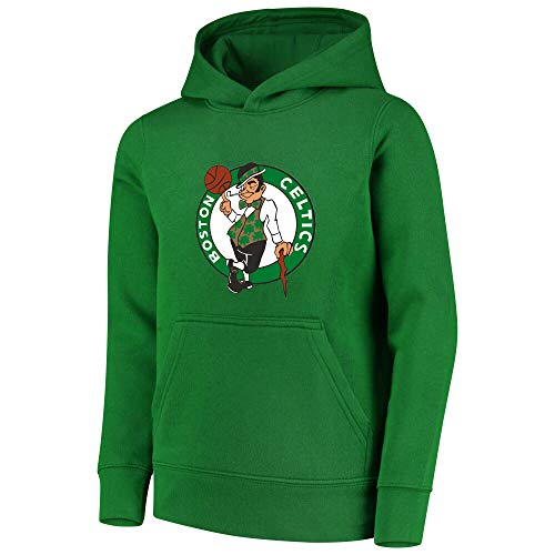 Outerstuff NBA Youth 8-20 Primary Logo Performance Essential Pullover Hoodie (Youth - Large, Boston Celtics Green)