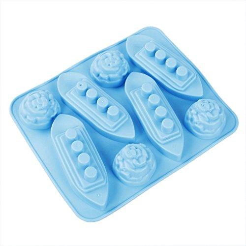 BuyinCoins - Stampo per cubetti di ghiaccio a forma di Titanic
