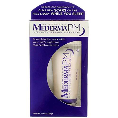 Mederma PM Intensive Overnight Scar Cream, 1 Ounce, 3 Pack