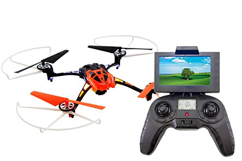XciteRC 15014200–Rocket 2503D FPV, 4Canal RTF cuadricóptero, Naranja