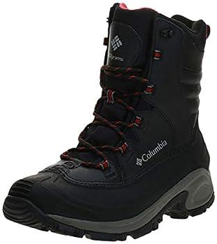 Columbia Men s Bugaboot III Snow Boot Black/Bright Red 8.5