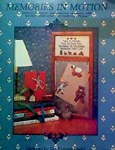 Memories in motion: Cross-stitch magnet and bookmark ornaments with movable cutouts using
