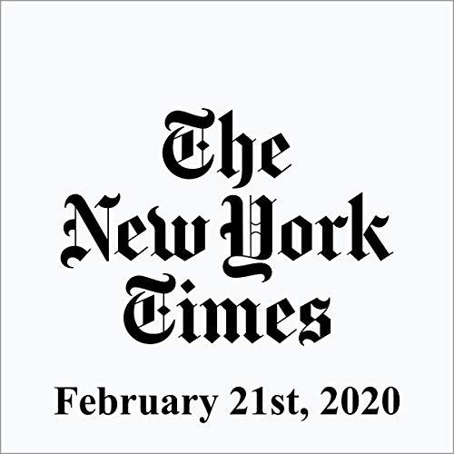 February 21, 2020 audiobook cover art
