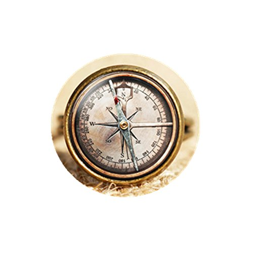Vintage Compass ring, Compass ring, Compass Jewelry, NOT REAL Compass