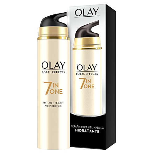 Olay Total Effects 7 en 1 Hidratante Anti-Edad Terapia para Piel Madura - 50 ml