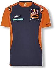 Red Bull KTM Official Teamline Camiseta, Azul Hombres Top, KTM Factory Racing Original Ropa & Accesorios