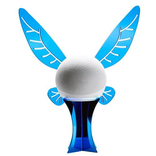 Suporte Splin de Mesa para Echo Dot 4ª Geração Amazon modelo EchoFairy (Blue Heaven)