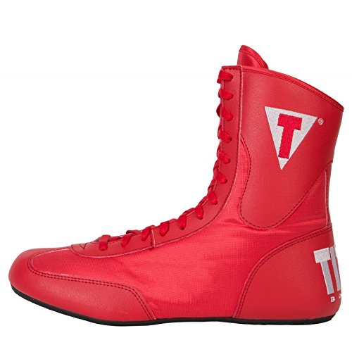 Title Speed-Flex Encore Mid Boxing Shoes, Red, 11