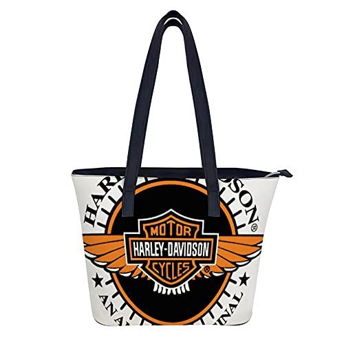Harley Davidson Hobo Taschen für Frauen Große Handtaschen Leder Schultertasche Damen Synthetik Crossbody Taschen