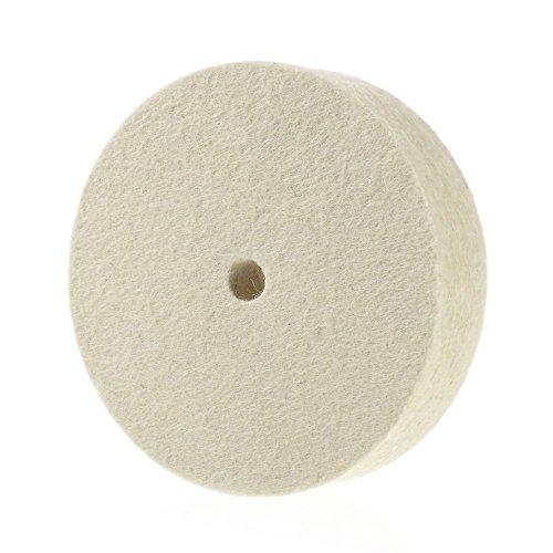 Premium 6' 100% Organic Wool Felt Polishing Buffing Wheel