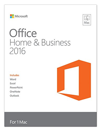 Produktbild Microsoft MS Office MAC Home & Business 2016 [UK] PKC