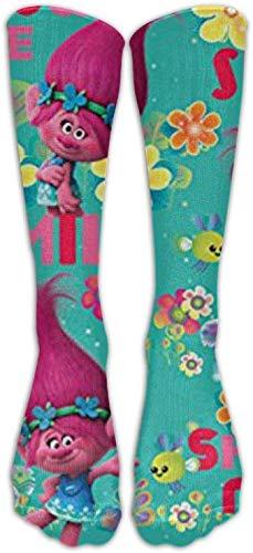 hgfyef Trolle Mohn Schöne Frauen Über Knie Oberschenkel Strümpfe Muster Hohe Socken