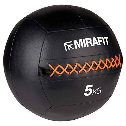 Mirafit Médecine Ball De Mur En PU Piqué – 8kg