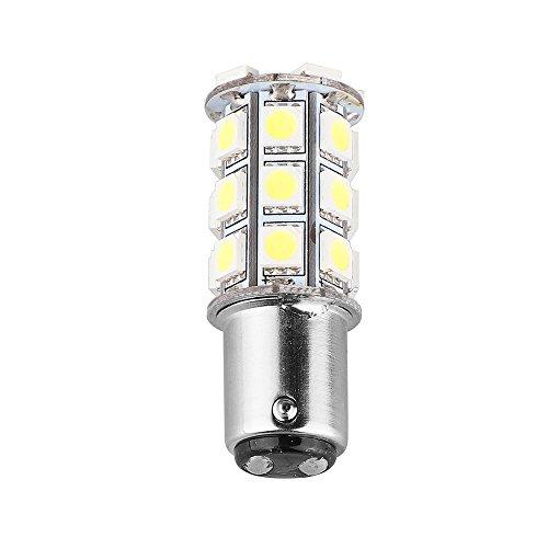 OurLeeme de 12V 4.5W 1157 BAY15D SMD 27 LED voiture feux arrière d'arrêt de ampoule lampe de frein blanc froid