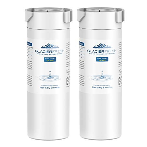 GLACIER FRESH XWF Replacement For GE XWF Refrigerator Water Filter Pack of 2